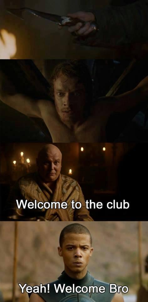 ¡Bienvenido al club!