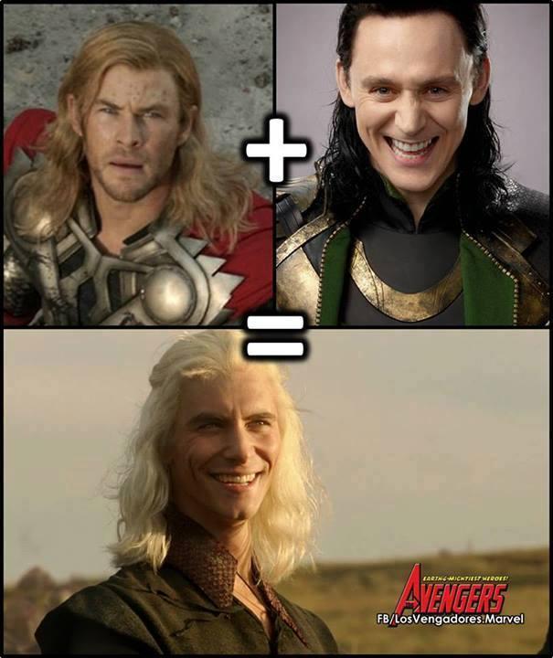 Thor + Loki = Viserys