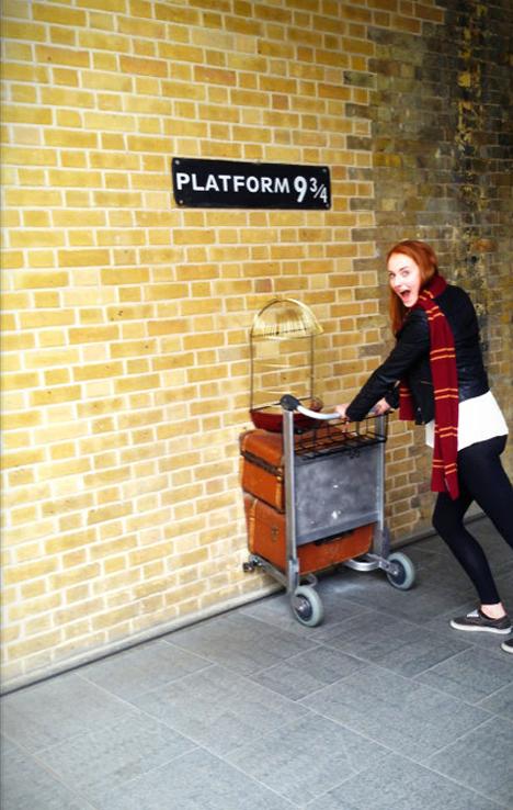 Sansa se escapa a Hogwarts