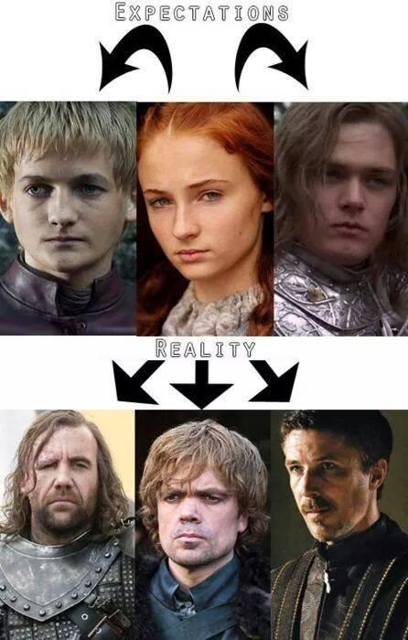 Sansa Stark: Expectativas vs realidad