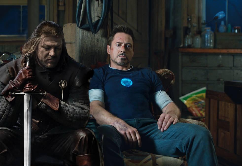 Mientras tanto en la casa Stark