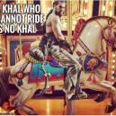Un khal que no puede cabalgar no es un khal