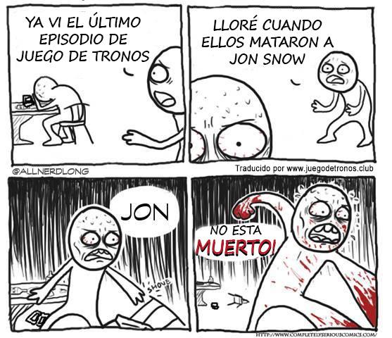 Jon Snow esta vivo