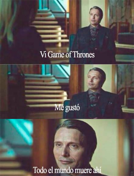 A Hannibal le gusta Juego de Tronos