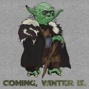 El invierno cerca esta – Yoda Stark
