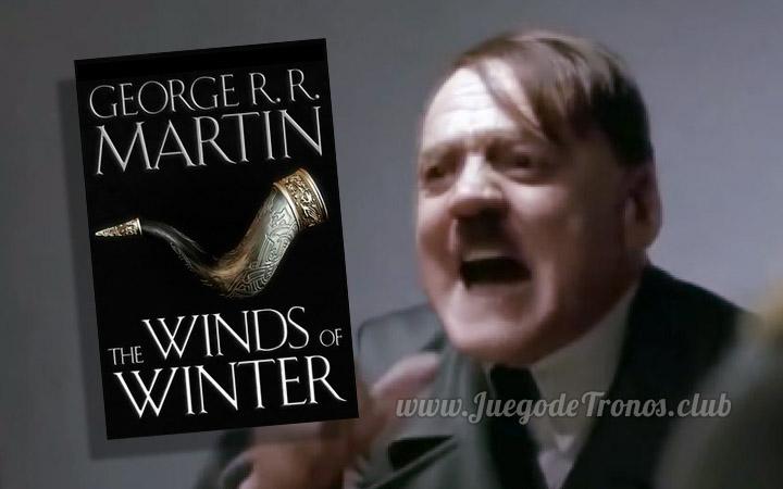Hitler se entera que Vientos de Invierno no esta terminado (video)