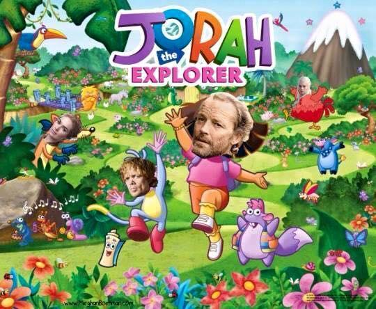 Jorah la exploradora
