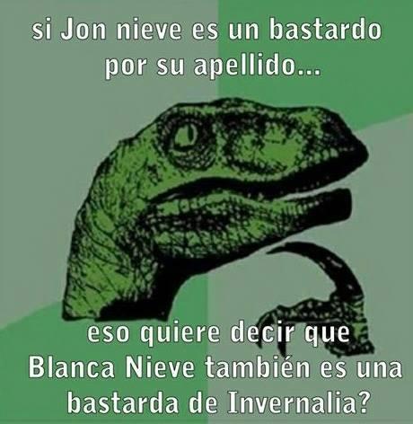 Los bastardos Jon y Blancanieves