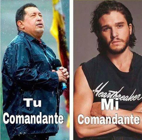 Comandante Hugo Chavez vs Comandante de la Guardia de la Noche