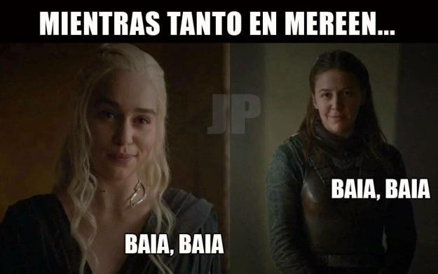 Daenerys hace clic con Asha