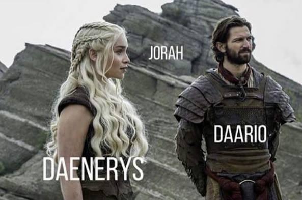 Dany, Daario y Jorah se reencontraron