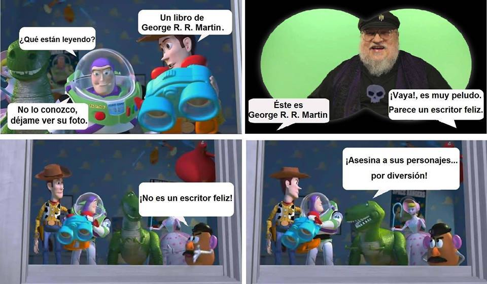 George RR Martin el temible