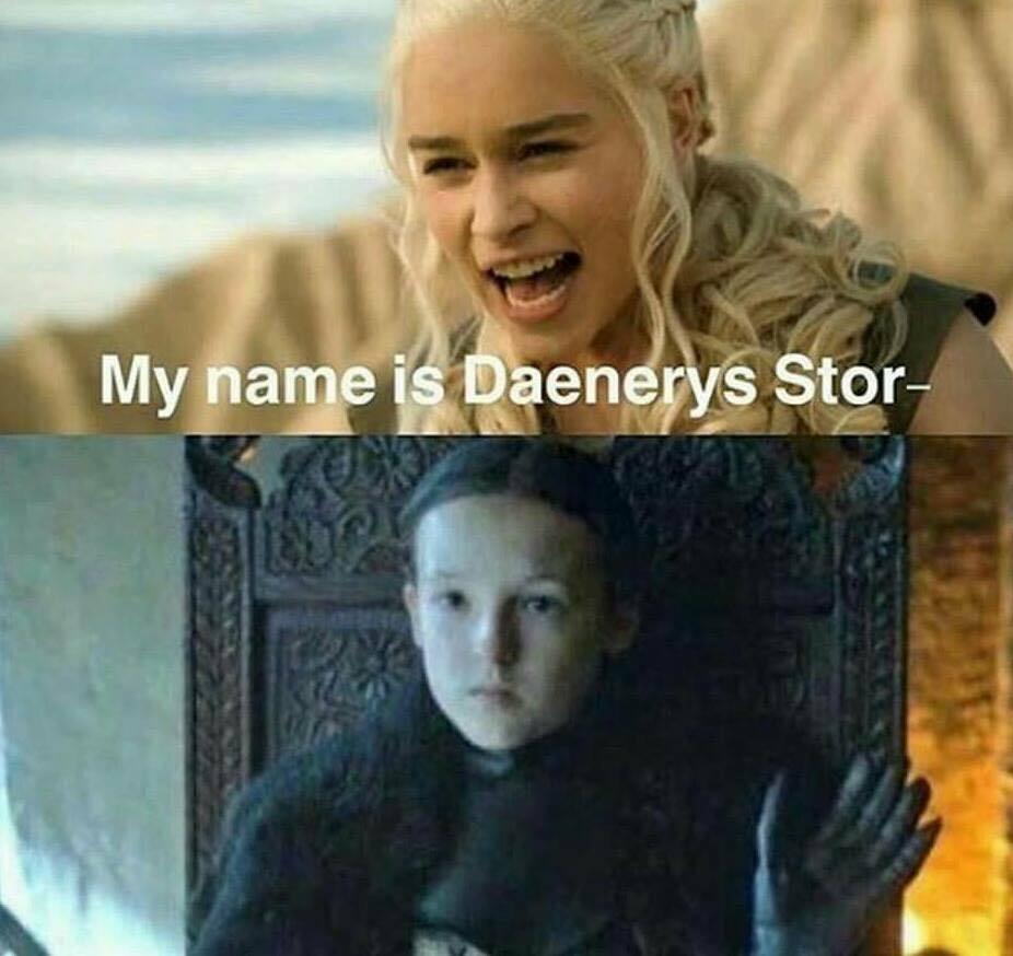 Solo Lyanna Mormont puede callar a Daenerys