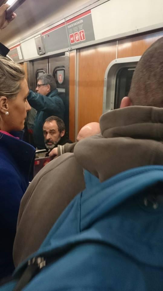 Stannis en el metro