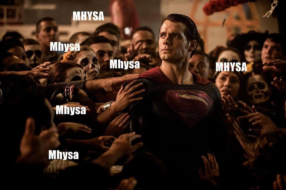 Superman en modo Khaleesi