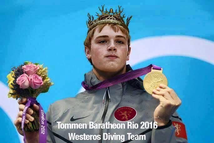 Tommen ganador de la medalla por el mejor salto