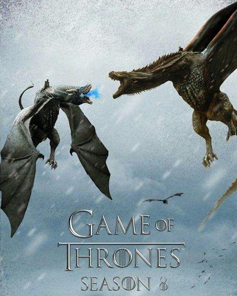 Choque de dragones fanart