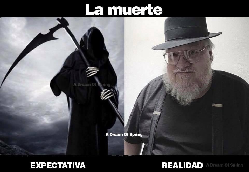La muerte – Expectativa vs Realidad