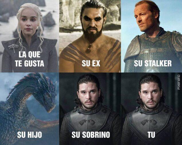 Jon Snow está en todas