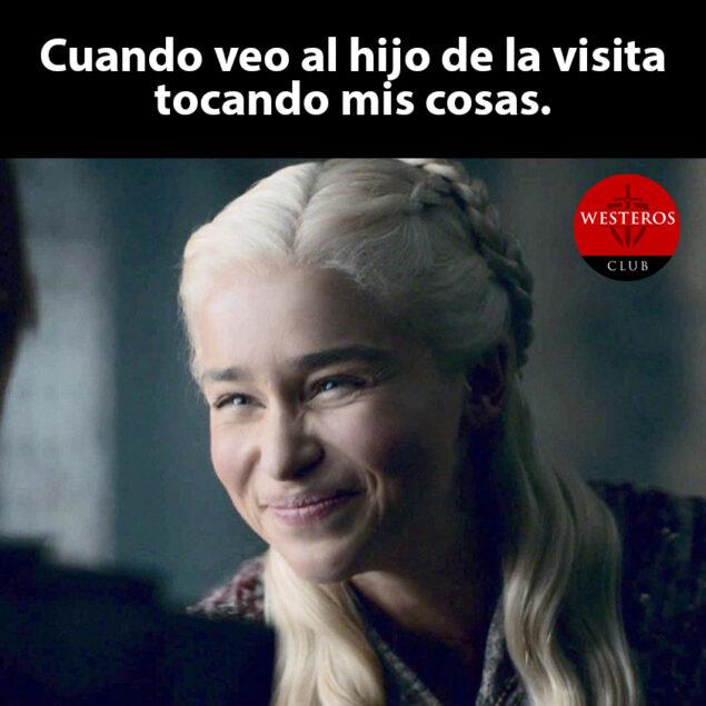Daenerys y el hijo de la visita