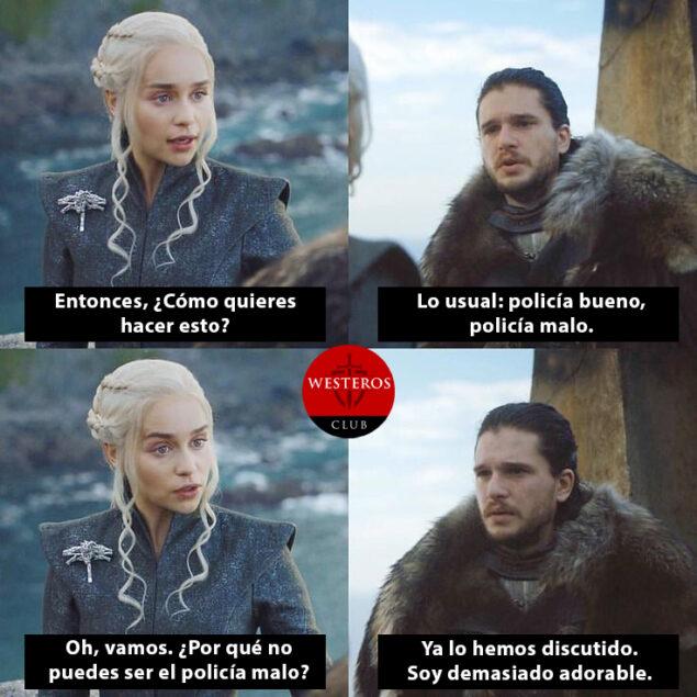 El adorable Jon Snow