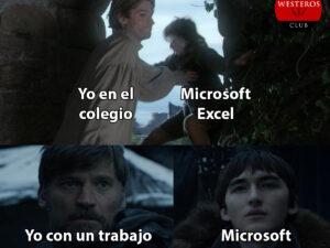 El reencuentro con Excel