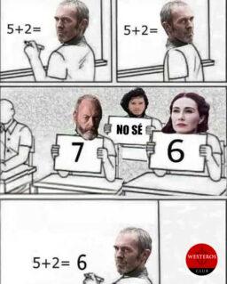 Stannis tomando malas decisiones